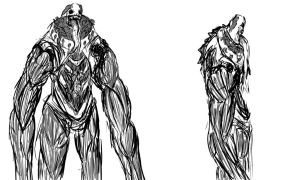 Juggolo second form concept art by TheMixedBaker