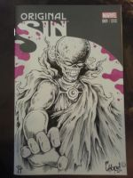 Zombie Watcher Sketch Cover by MonsterInk