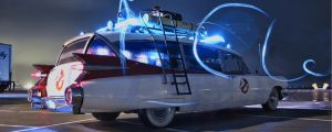 Duel Monitor Ecto1 - Ghostbusters by FNHot