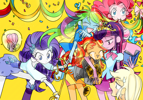friendship is magic!! by memoneo