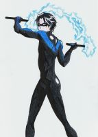 Nightwing by Haycle