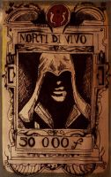 Ezio's wanted poster by gilly15