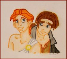 Herc' and Jim by Millimiw
