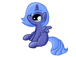 Woona Sitting Shaded by InkBlu