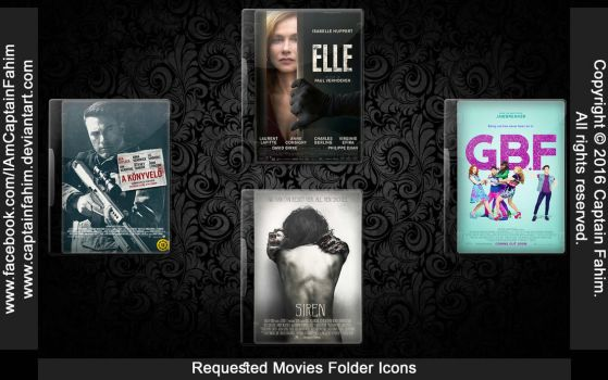 Requested Movies Folder Icons - Code #70000001 by CaptainFahim