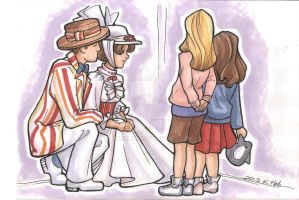 Meeting Bert and Mary by khallion