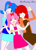 tres chicas divertidas :D by MijyYuka