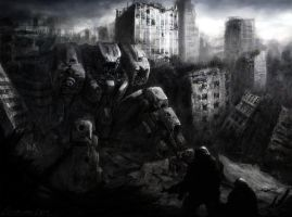 Remnant of wars by nibelwolf