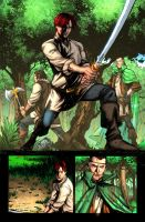 Wheel of Time issue 8 page 16 by NicChapuis
