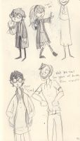 Potter Sketches by liliribs