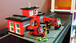 Lego Land Fire Station #2 by Faxwell23