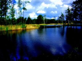 Little lake by MeAndMyHand