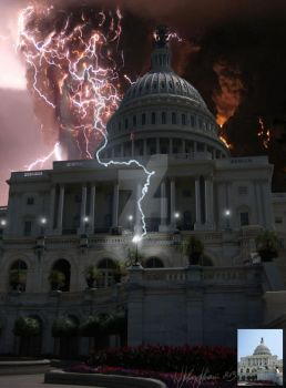 The Capital Storm by TheCreativeTablet