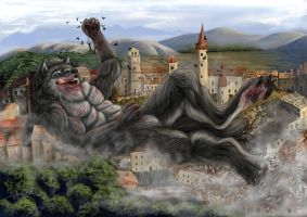 Big Trouble of Small City by AnsticeWolf