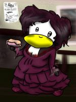 Mrs. Lovett Penguin by dancephd