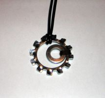 Mechanical MoonSun Pendant by Nemo-Nessuno