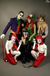 Cat and vilains by EnModeCroft