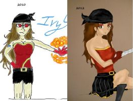 2 years of improvement by Elicia1016
