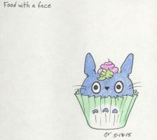 #4 Food with a Face by jijikit