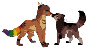 Create a mate contest entry for Michelsadoptions by LizzysAdopts