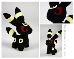 Umbreon Plush by WindQueen
