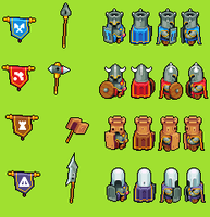 Castle Commander Sprites by Tcwill