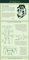Anatomy Part 2: Proportions by shutterbones