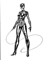 Catwoman - Pfeiffer style by SpiderGuile