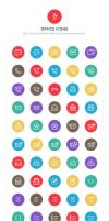 740+ Line Icons by diekave