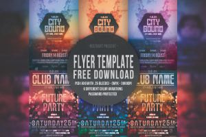 Flyers Template FREE by nidzoart