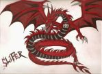 Slifer The Sky Dragon by The-MuseDragon