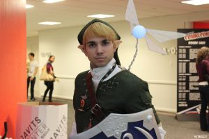 NYCC 2014: Link closeup! And.. that fairy.. by Kitedot