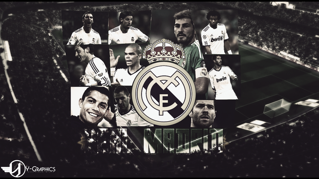 Wall Real Madrid by Sou-Gfx