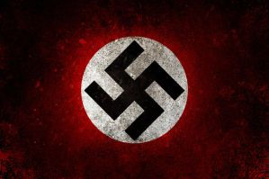 Nazi Party Flag by elhadibrahimi