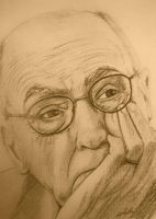 sketching with Saramago by CarlaTeresa