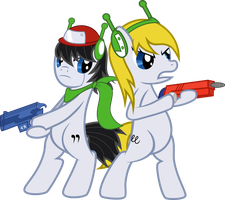 Team-Up! - Cave Story Crossover by Budgeriboo