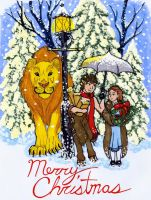 Narnia Christmas by CrimsonGriffin