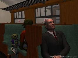 St. Patrick's Day, 2014: Last Train to Cuain Caite by Norski