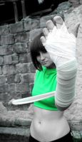 Rock Lee oiroke cosplay by A-Marry
