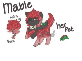Mable Ref by Radiant-LadyRose