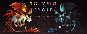 [2 /2 CLOSED] Adopt auction - SOLVEIG and EYOLF by quacknear