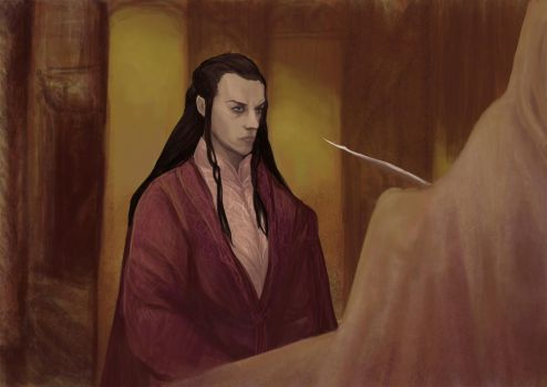 Elrond's private museum by Mental-Lighton