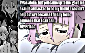 Crona, My Friend by Xela-scarlet