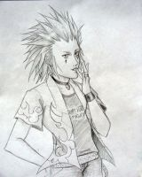 Axel casual by OP-KingdomHearts-DS