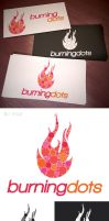 burningdots logo by mikeandlex