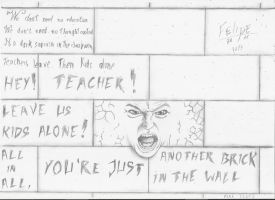 Another Brick in the Wall by 13LFelipe