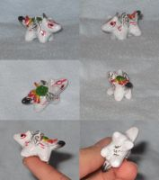 Chibi Ammy Sculpture by ZulayaWolf