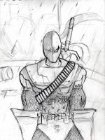Deathstroke by Amrock