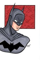 Batman DCnU Headshot2 by RichBernatovech