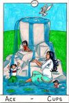 Barefoot Tarot - Ace of Cups by SparrowsHellcat